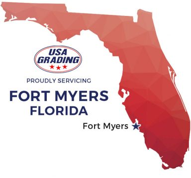 USA Grading, Inc. provides roll of dumpster rental in Fort Myers, Florida and surrounding areas.